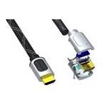 HDMI-Kabel einseitig konfektioniert und Crimp-Zubehör
