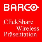 Barco ClickShare Wireless Präsentation