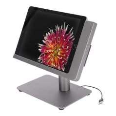 Viveroo Free Flex iPad Tischstandfuss mit USB-A in DarkSteel