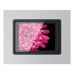 Viveroo Square in SuperSilver - iPad Wandeinbaulösung