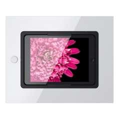 Viveroo Square in ClearWhite - iPad Wandeinbaulösung