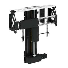 In Floor TV Lift mit Drehfunktion und wegfahrender Klappe - Future Automation PLFS-DRL