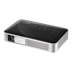 Vivitek Qumi Q38 schwarz - Mobiler LED-Beamer