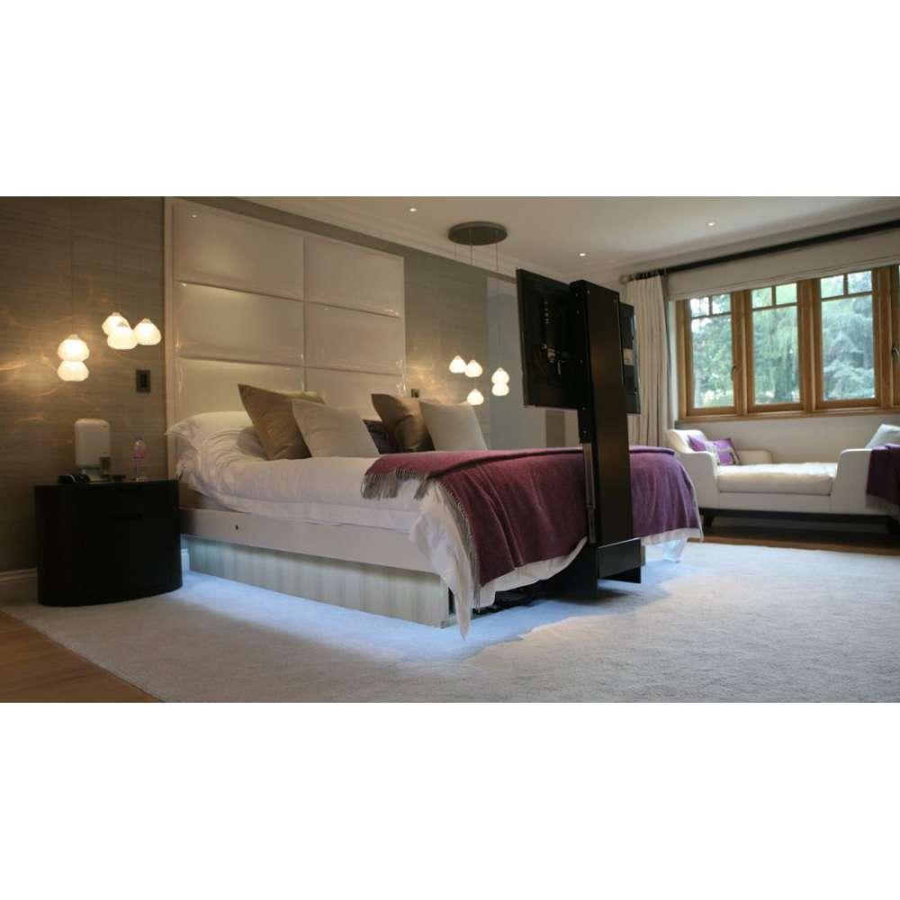 tv lift mit drehfunktion f r unter das bett kaufen av weibel ag. Black Bedroom Furniture Sets. Home Design Ideas