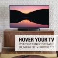 Sanus WSTV1-B2 / TV-Ständer zu Sonos Playbase