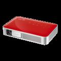 Vivitek Qumi Q38 rot - Mobiler LED-Beamer